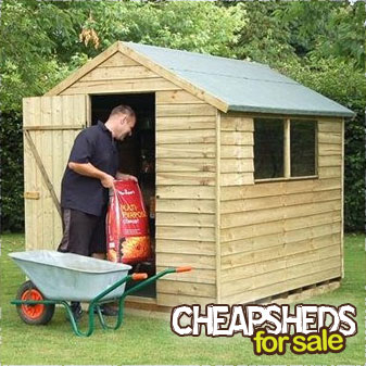 Shedme cheap garden sheds uk for Cheap sheds for sale