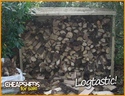 Log Storage Sheds